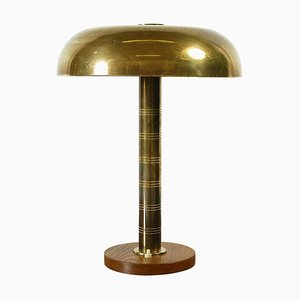 Swedish Modernist Table Lamp from Böhlmarks, 1940s