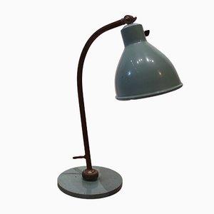 Hellblaue dänische Vintage Tischlampe, 1960er