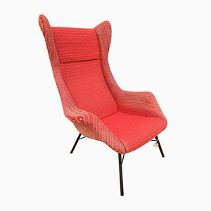 Vintage Armchair by Miroslav Navratil for Ton, 1960s