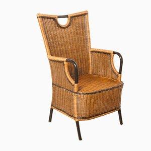 Vintage Rattan Garden Chair, 1970s