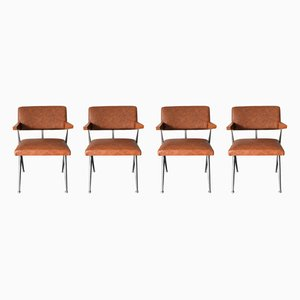 Model HB 030 Dining Chairs by Herman D. Bakker for Artifort, 1964, Set of 4