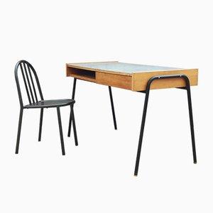 Vintage Sonacotra Schreibtisch von Pierre Guariche, 1950er