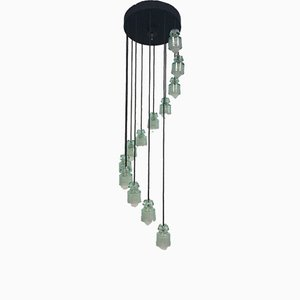Chandelier by Tito Agnoli for Oluce, 1960s