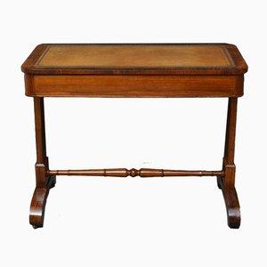 Antiker William IV Schreibtisch aus Palisander