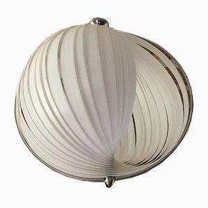 Lampe à Suspension Moon Vintage par Verner Panton pour Louis Poulsen