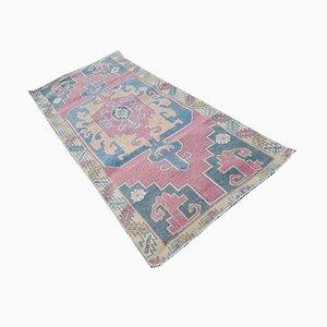 Large Turkish Oushak Hand-Knotted Carpet, 1970s