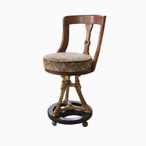 Chaise de Bateau Antique