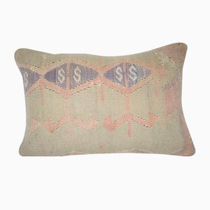 Kilim Lumbar Rug Pillow Cover from Vintage Pillow Store Contemporary