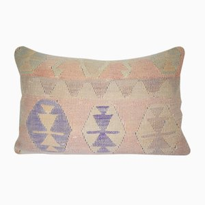Turkish Kilim Rug Pillow Cover from Vintage Pillow Store Contemporary