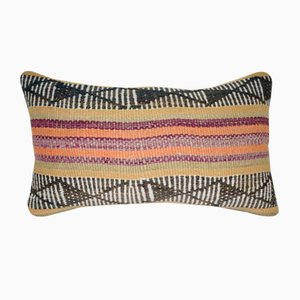 Goat Hair Lumbar Pillow Cover from Vintage Pillow Store Contemporary