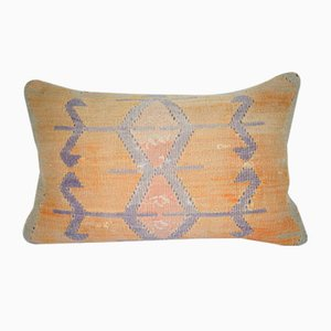 Turkish Wool Lumbar Pillow Cover from Vintage Pillow Store Contemporary