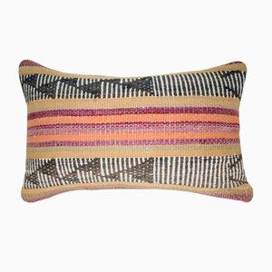 Funda de almohada Kilim de pelo de cabra de Vintage Pillow Store Contemporary
