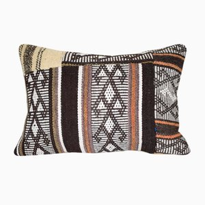 Patchwork Throw Lumbar Pillow Cover from Vintage Pillow Store Contemporary