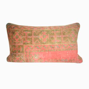 Distressed Turkish Rug Pillow Cover from Vintage Pillow Store Contemporary