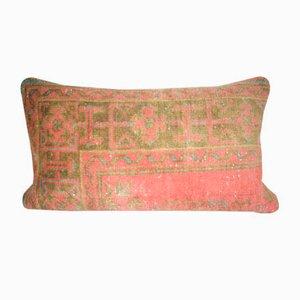 Türkischer Kissenbezug aus verblasstem Kelim von Vintage Pillow Store Contemporary