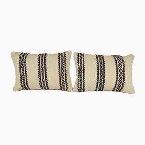 Housses de Coussin Lombaire de Vintage Pillow Store, Turquie, Set de 2