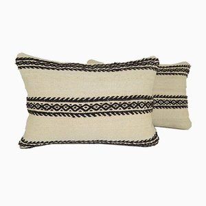 Turkish Lumbar Kilim Pillow Covers from Vintage Pillow Store Contemporary, Set of 2