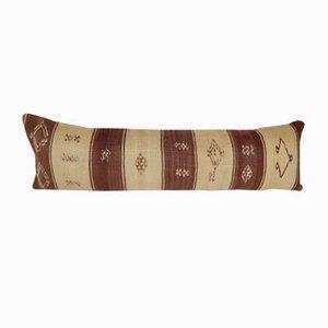 Kelim Kissenbezug mit geometrischem Muster von Vintage Pillow Store Contemporary