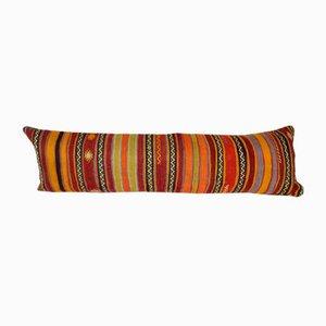Funda de cojín alargada hecha con kilim turco de Vintage Pillow Store Contemporary