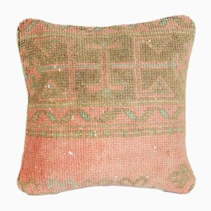 Turkish Pastel Rug Pillow Cover from Vintage Pillow Store Contemporary