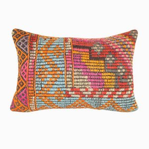 Turkish Cicim Kilim Pillow Cover from Vintage Pillow Store Contemporary