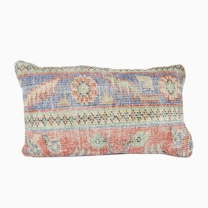 Turkish Oushak Rug Pillow Cover from Vintage Pillow Store Contemporary