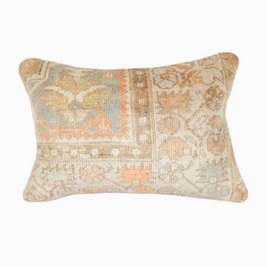 Anatolian Floral Oushak Rug Pillow Cover from Vintage Pillow Store Contemporary
