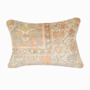 Anatolischer Oushak Kissenbezug mit floralem Muster von Vintage Pillow Store Contemporary