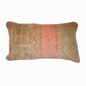 Turkish Wool Oushak Rug Pillow Cover from Vintage Pillow Store Contemporary