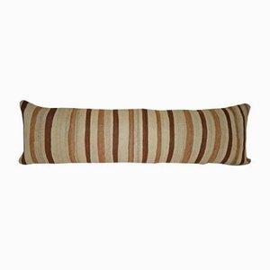 Großer handgefertigter Kelim Wollkissenbezug von Vintage Pillow Store Contemporary