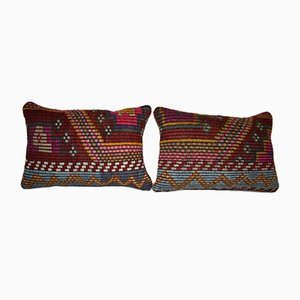 Housses de Coussin Kilim de Vintage Pillow Store Contemporary, Set de 2