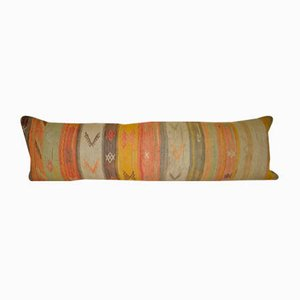 Wool Lumbar Kilim Pillow Cover from Vintage Pillow Store Contemporary