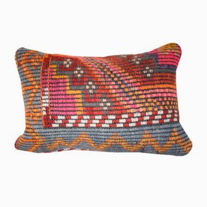 Turkish Striped Lumbar Pillow Cover from Vintage Pillow Store Contemporary
