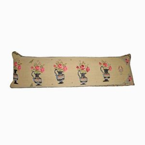 Federa Kilim grande ricamata di Vintage Pillow Store Contemporary