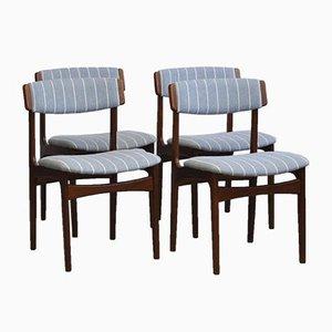 Dänische Mid-Century Stühle aus Teak von T.S.M., 1970er, 4er Set