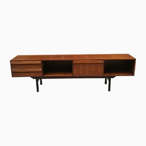 Rosewood Sideboard with Flap Doors, 1960s