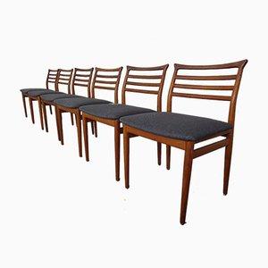 Chaises de Salle à Manger en Teck par Erling Torvits pour Sorø Stolefabrik, 1960s, Set de 6
