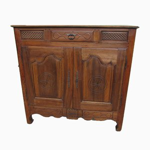 Antique Walnut and Cherry Buffet