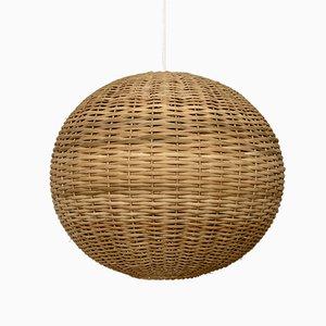 Italian Woven Ball Lamp, 1960s