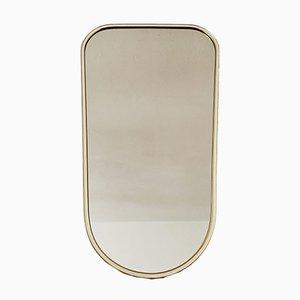 Vintage Spiegel mit goldenem Rahmen, 1950er