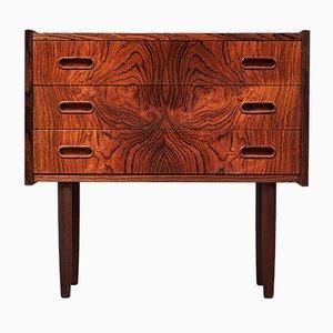 Brazilian Rosewood 3-Drawer Dresser, 1960s