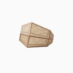 Medium Weave Lamp by Nayef Francis