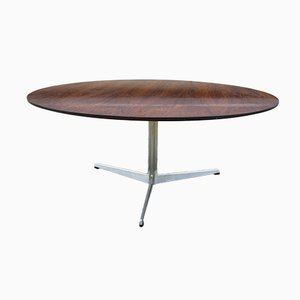 Rosewood Coffee Table by by Arne Jacobsen for Fritz Hansen, 1960s