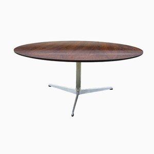 Tavolino da caffè in palissandro di Arne Jacobsen per Fritz Hansen, anni '60