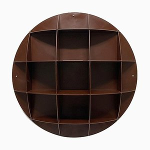 Brown Globo 686/800 Wall Rack by Vector for Schall und Raum, 1970s