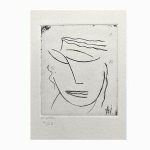 Gravure à l'Eau-Forte par Alexej von Jawlensky, 2014
