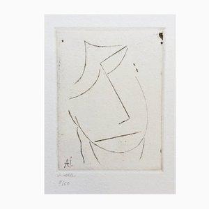 Geneigter Kopf Etching by Alexej, Jawlensky, 2014