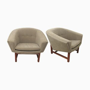 Swedish Model Corona Armchairs by Lennart Bender, 1960s, Set of 2