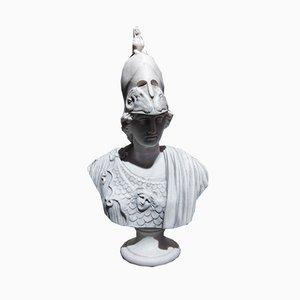 Buste Déesse Athéna en Marbre de Sculptured Arts Studio, 1980s
