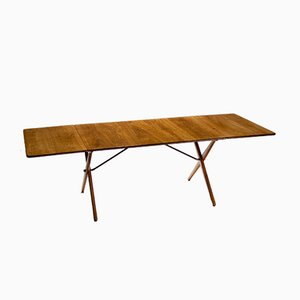 Model AT-309 Drop-Leaf Dining Table by Hans J. Wegner for Andreas Tuck, 1950s